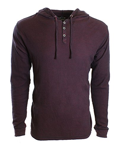 Burnside Mens Thermal Hooded Knits