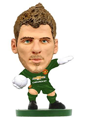 SoccerStarz SOC025 Man Utd David De GEA-Home Kit (2019 Version) /Figures, - Soccer Start Kit