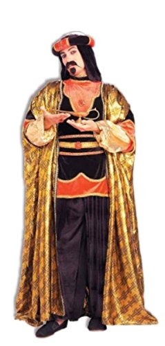 [Adult Royal Sultan Costume - Christmas Wise Men King - Fits up to size 42 chest] (Sultan (wise Man) Adult Costumes)