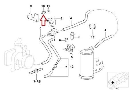 Amazon Com 3 X Bmw Oem Air Pump Mount