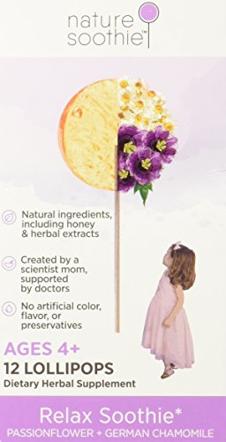 nature soothie All Natural Lollipop Chamomile product image