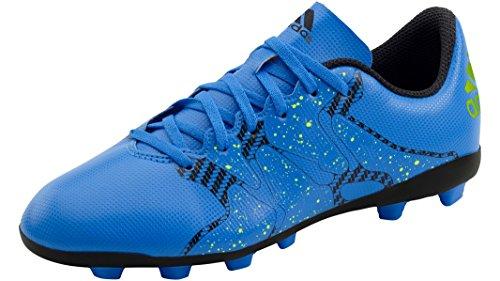 Botas de fútbol Adidas X 15.4 FXG azul claro Talla:44.5 - azul claro