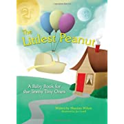 The Littlest Peanut: A Journal Milestone Babybook for Preemies