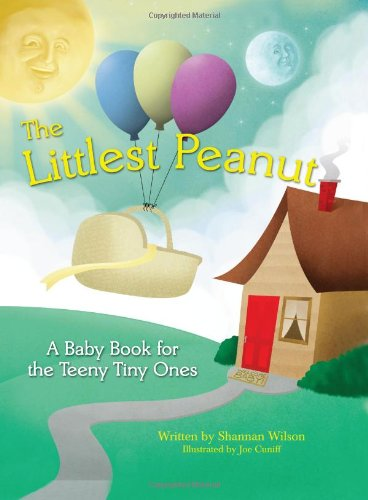 The Littlest Peanut- A Milestone Journal Babybook for Preemies and NICU Babies