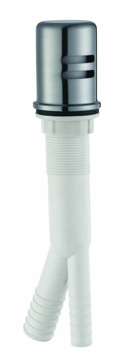 Design House 522953 Dishwasher Air Gap, Satin Nickel Finish