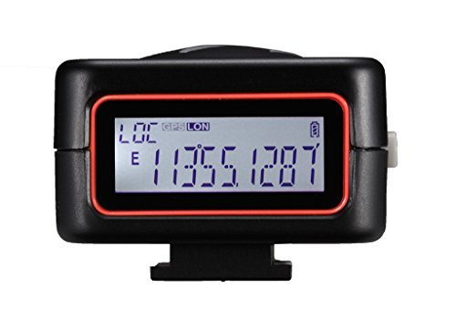 Geotagger Pro2-EOS is camera GPS receiver with LCD screen fo