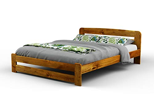515219c792 New King Size Solid Wooden Bedframe