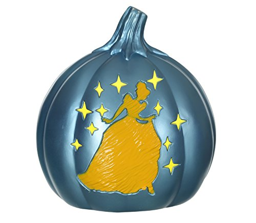 Disney Princess Light Up Pumpkin (Halloween Cutouts For Pumpkin Carving)