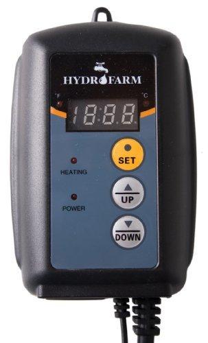 Hydrofarm MTPRTC Digital Thermostat For Heat Mats Garden, Lawn, Supply, Maintenance
