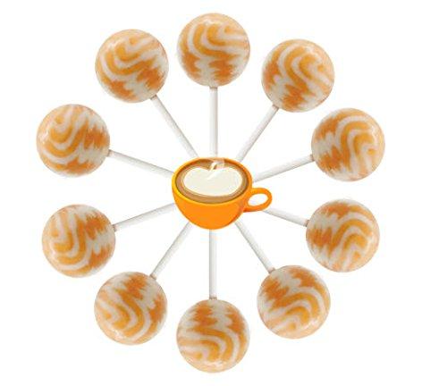 (10ct. Pumpkin Latte Cream Swirl Lollipop Bag (Pumpkin Latte))
