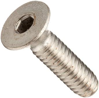 Stainless Steel Socket Cap Screw, Flat Head, Hex Socket Drive