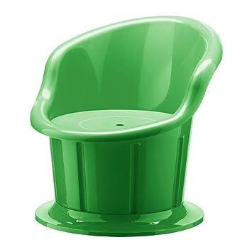 Ikea Popptorp Sessel Grun Amazon De Kuche Haushalt