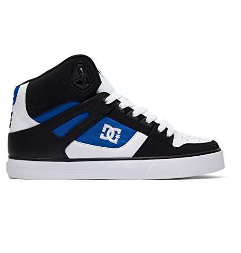 DC Hombre Alta SE White de caña Zapatillas Pure Black Shoes ADYS400043 para Blue 86rwqSA8x