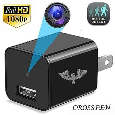 Hidden Camera - Spy Camera - Motion Detection - USB Hidden Camera - Surveillance Camera - Mini spy Camera -USB Camera - Spy Camera Charger - Hidden Camera Charger - Security Camera from Crosfen