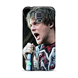 Samsung Galaxy S5 Sjy9416kcyE Allow Personal Design Nice Asking Alexandria Band Image Bumper Hard Phone Cover -JonBradica