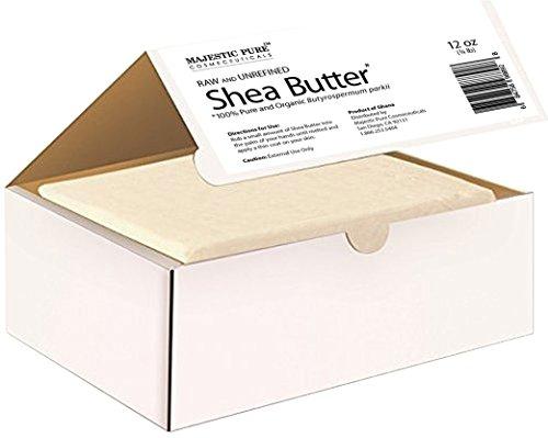 Majestic Pure Grade A Unrefined Organic Shea Butter, 12 oz by Majestic Pure (Image #2)