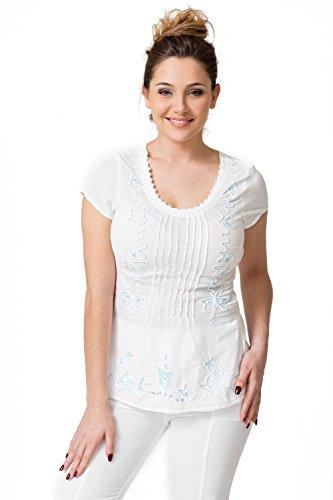 Falda Cotonniere Blanco Mujer Para La Uz5gxnqwU
