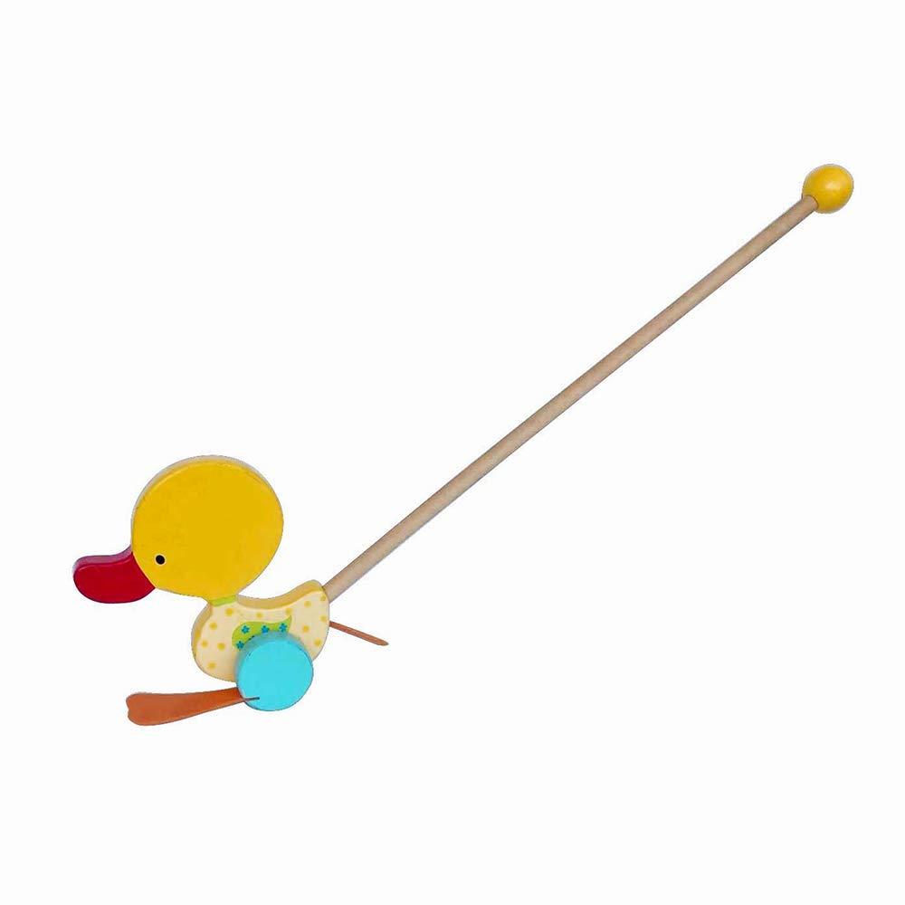 Applesauce Wooden Children's Toy Duck Walker
