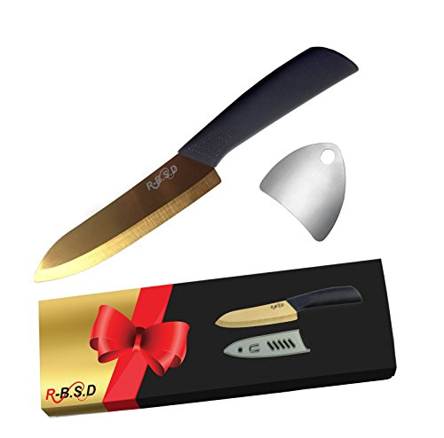 gold chef knife set - 3
