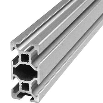 2000 mm Aluminium Extrusion Profile 2040 T-Slot 6 mm