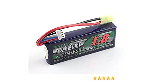 RC Turnigy nano-tech 1500mAh 3S 20-40C Lipo AIRSOFT Pack