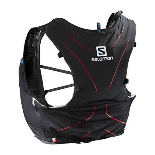 (Salomon Adv Skin 5 Set Black, Medium/Large)