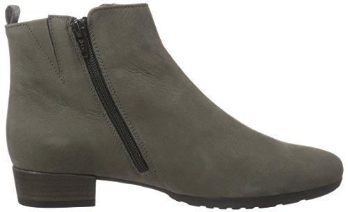 Gabor Shoes Comfort Sport, Botas Chelsea para Mujer Gris (anthrazit micro)