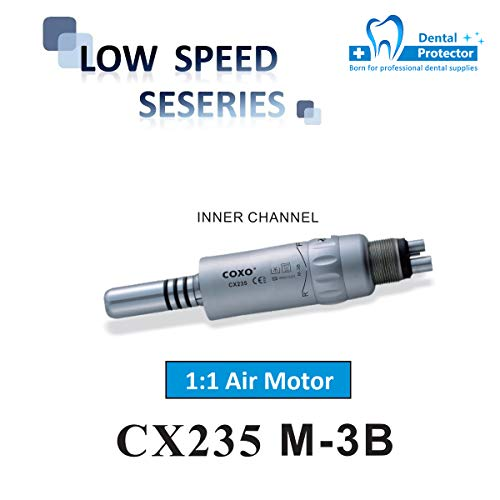 aa8f37b6b3546 COXO SOCO Dental Low Speed Air Motor,4 Holes or 2 Holes,Inner Water, for  Dentist