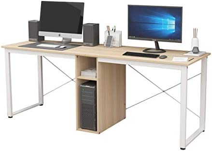 SDHYL Two Person 78 inches Home Office Desk