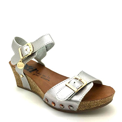 XTI, Sneaker donna argento