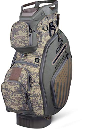 Reverse Cart Bag - Sun Mountain 2019 C-130 Cart Bag Camo