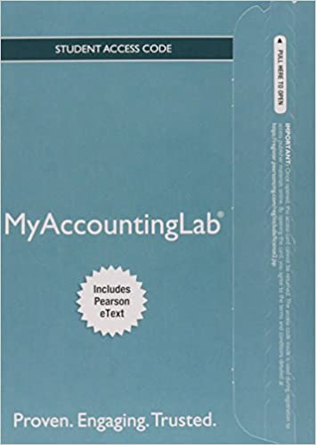 MyLab Accounting With Pearson EText Access