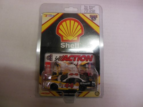 Tony Stewart #44 Shell 1998 Pontiac 1:64 Scale Stock Car Limited Edition Collectible by Action Nascar 50th Anniversary (Nascar Stock Car Limited Edition)