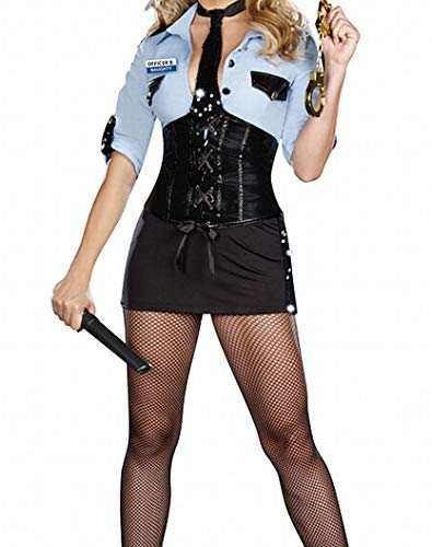 Officer B Naughty Adult Costume Size Large -