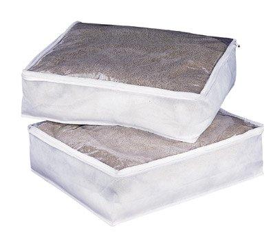 Organize It All 2- Pack Zephyr Blanket Bag (Blanket Case)