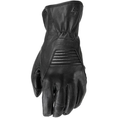 Scorpion Full-Cut Men's Leather Street Bike Motorcycle Gloves - Black/X-Large (Klaw Scorpion Gloves)