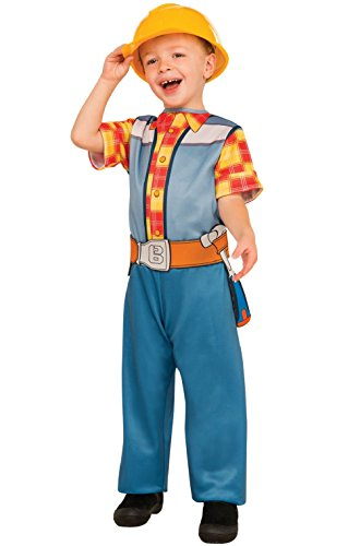 Bob The Builder Shirt Costume (Bob the Builder Handyman Construction Worker Boys Child Costume)