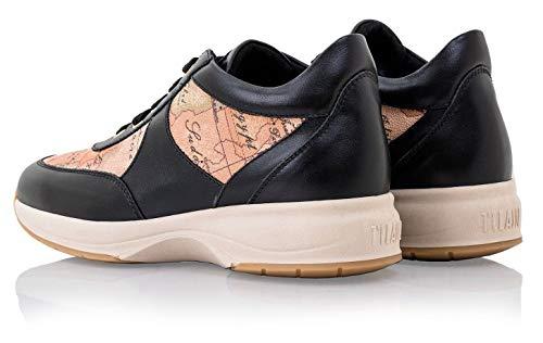 Donna 9810 Nero Martini Sneakers Z 535h Geo Scarpe Alviero 1°classe Crossing WPnSzxqvO