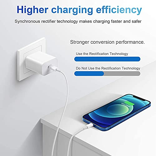 USB C To Lightning Cable[Apple MFi Certified]10 ft iPhone Charger 2Pack,Fast Charger iPhone Cord for iPhone 13 Mini/iPhone 13/iPhone 12/12 Mini/12 Pro/12 Pro Max/11 Pro/11 Pro Max/X/XS Max/XR/8/8 Plus