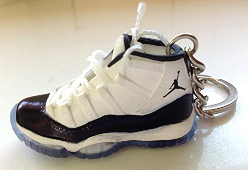 Air Jordan XI 11 Concord Black White Sneakers Shoes 3D Keychain   Amazon.co.uk  Sports   Outdoors ec853014a