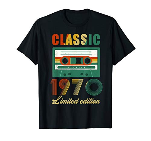 Mixtape 1970 49th Years Old Limited Edition Shirt Gift