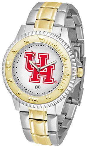 Houston Cougars Competitor Two-Tone Men's Watch