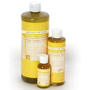 Dr. Bronner - Citrus Orange Pure Castille Soap , 8 fl oz liquid