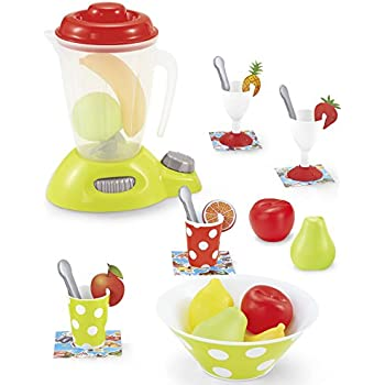 Genius Art Blender Toy   Play Kitchen Accesories   Pretend Food Set With  Appliances For Pretend Play Cooking (27 Pieces)