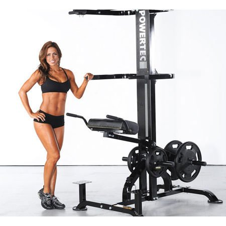 Powertec Fitness Levergym Chin/Dip Assist Plus, Black by Powertec Fitness (Image #3)