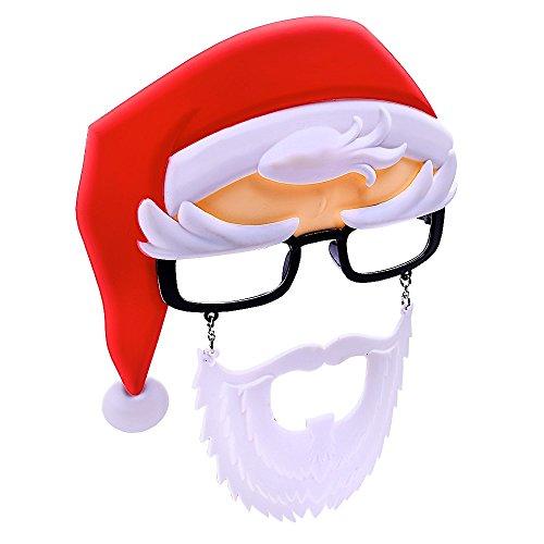Santa Readers with Beard Costume - Sunglasses Santa