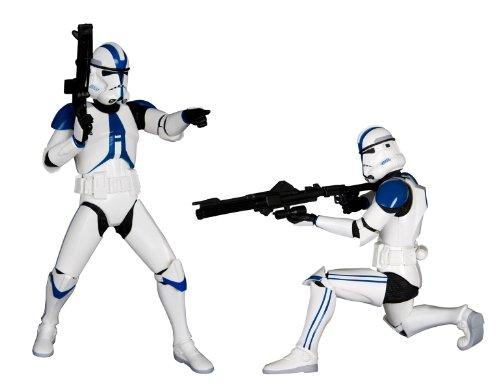 Kotobukiya Star Wars: Imperial 501st Legion Clone Trooper ArtFX+ Statue 2-Pack ()