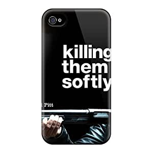 New Tpu Hard Case Premium Iphone 4/4s Skin Case Cover(jackie Cogan Killing Them Softly)
