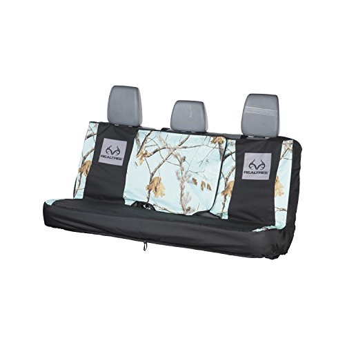 - Realtree Camo Full-Size Bench Seat Cover, Large Truck and SUV, AP Cool Mint, Realtree AP Cool Mint