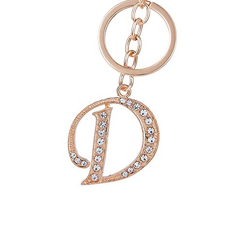d letter keychain - 1